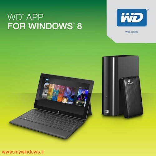 WD WINDOWS 8